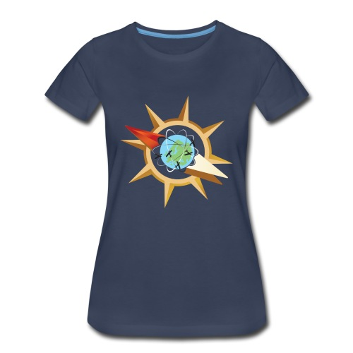 Tritty In The City Compass Shirt Women's - Women's Premium T-Shirt