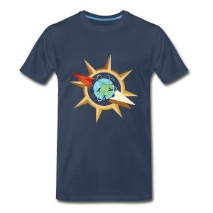 Tritty In The City Compass Shirt Men's - Men's Premium T-Shirt