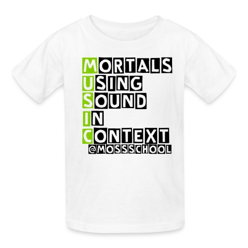 MUSIC Acronym  - Kids' T-Shirt