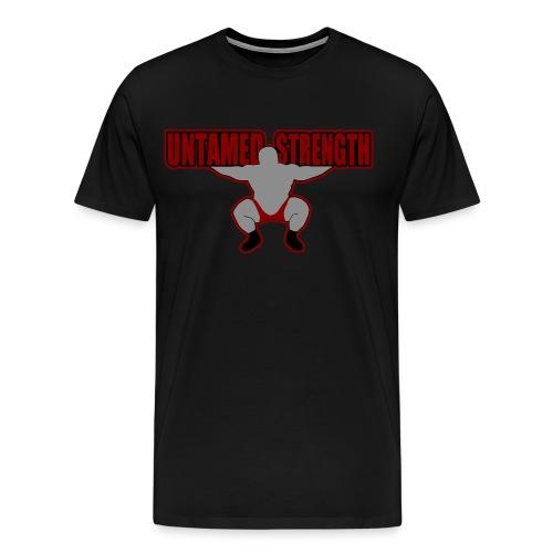 Untamed Strength T-shirt - Men's Premium T-Shirt