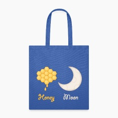 Funny Honey Moon Wedding Tote Bag