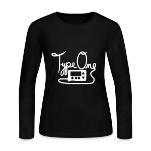 Type One - Pump Design 1 - White - Women's Long Sleeve Jersey T-Shirt