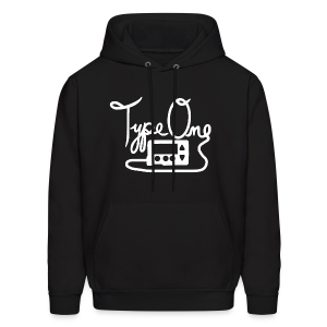 Type One - Pump Design 1 - White - Men's Hoodie