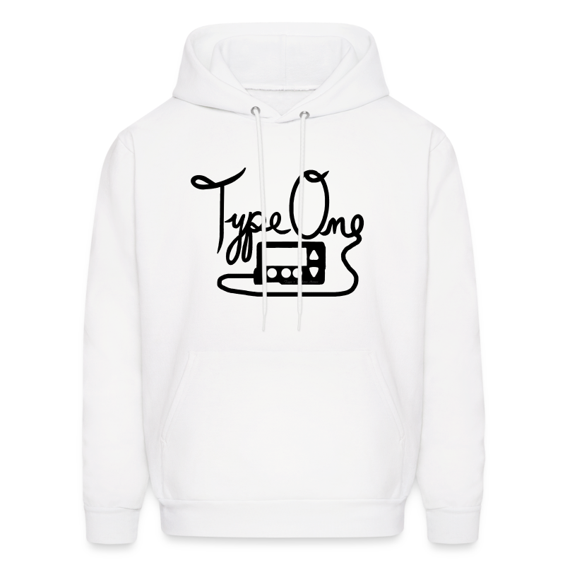 Type One - Pump Design 1 - Black - Men's Hoodie