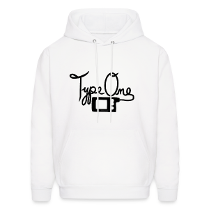 Type One - Pump Design 2 - Black - Men's Hoodie