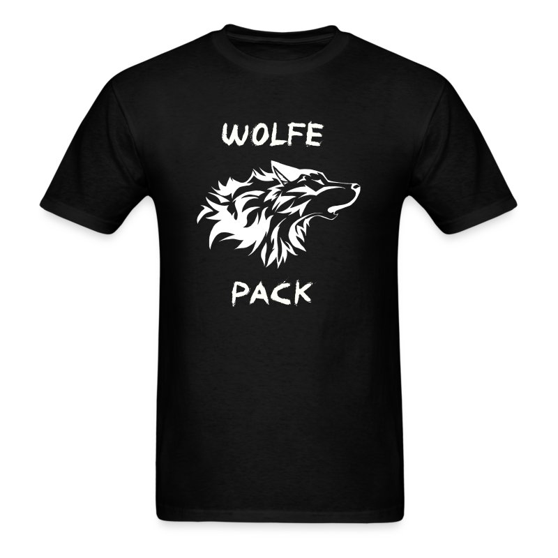 Wolfe Pack (Guys - Black Version) - Men's T-Shirt