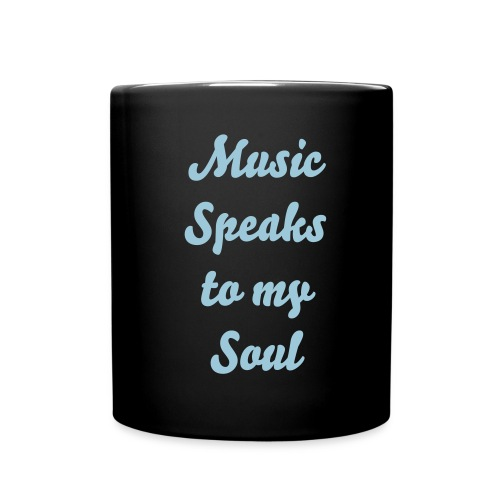 Music Speaks To My Soul Mug - Full Color Mug