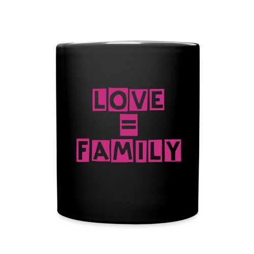 Love and Family Mug - Full Color Mug