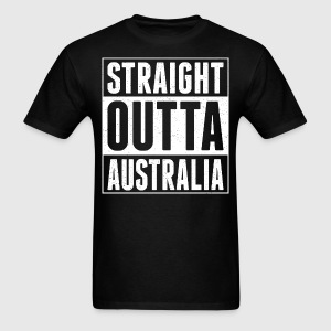 Straight Outta Australia - Men's T-Shirt