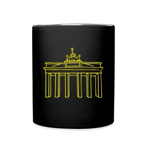 Brandenburg Gate in Berlin - Full Color Mug