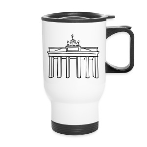 Brandenburg Gate in Berlin - Travel Mug