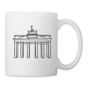 Brandenburg Gate in Berlin - Coffee/Tea Mug