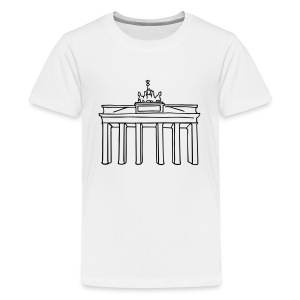 Brandenburg Gate in Berlin - Kids' Premium T-Shirt