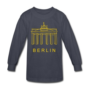 Brandenburg Gate in Berlin - Kids' Long Sleeve T-Shirt