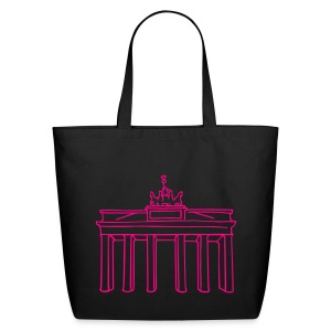 Brandenburg Gate in Berlin - Eco-Friendly Cotton Tote