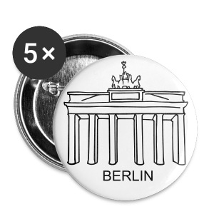 Brandenburg Gate in Berlin - Small Buttons