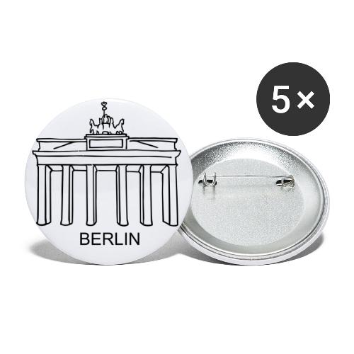 Brandenburg Gate in Berlin - Buttons small 1'' (5-pack)