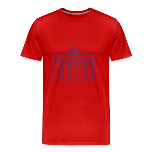 Brandenburg Gate in Berlin - Men's Premium T-Shirt