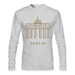 Brandenburg Gate in Berlin - Men's Long Sleeve T-Shirt by Next Level