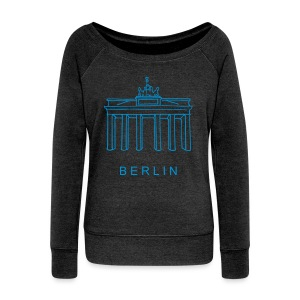 Brandenburg Gate in Berlin - Women's Wideneck Sweatshirt
