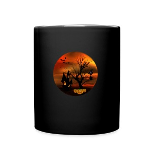 Halloween Cat - Full Color Mug