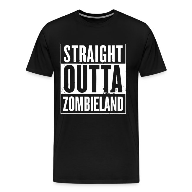 Straight Outta Zombieland - Tshirt