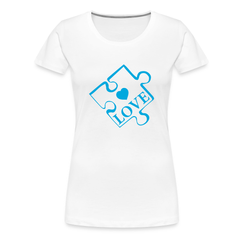 Autism Love - Women's Premium T-Shirt