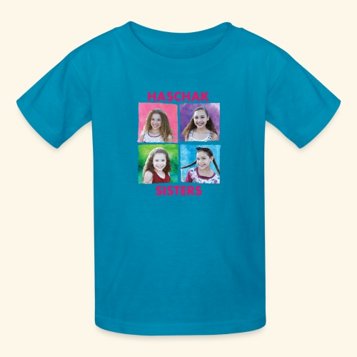 Haschak Sisters Shirt (Blue 2) - Kids' T-Shirt