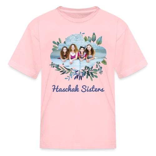 Haschak Sisters Shirt (Pink 1) - Kids' T-Shirt