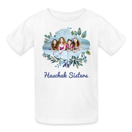 Haschak Sisters Shirt (White 1) - Kids' T-Shirt