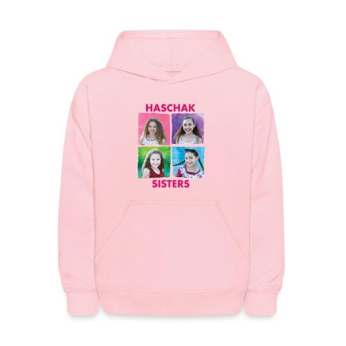 Haschak Sisters Hoodie (Pink 2) - Kids' Hoodie