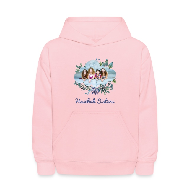 Haschak Sisters Hoodie (Pink 1)