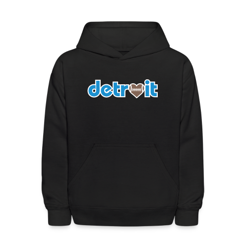 Detroit Football Love - Kids' Hoodie