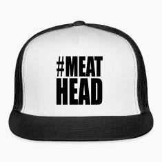Meathead Weight Lifting Funny Caps