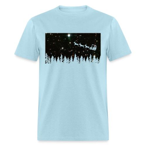 Golf Ugly Christmas Sweater - Men's T-Shirt