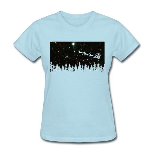 Golf Ugly Christmas Sweater - Women's T-Shirt