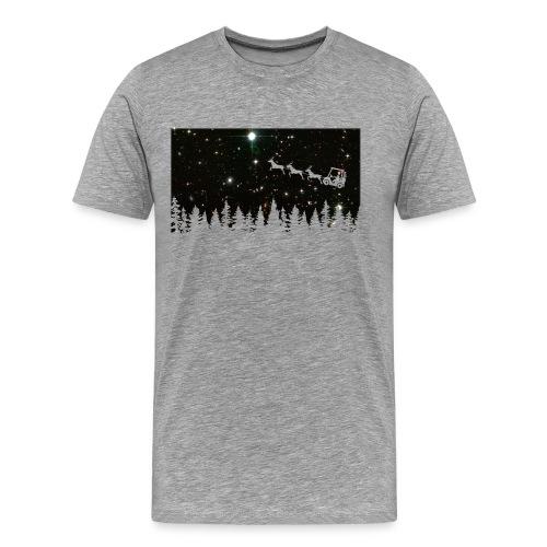 Golf Ugly Christmas Sweater - Men's Premium T-Shirt