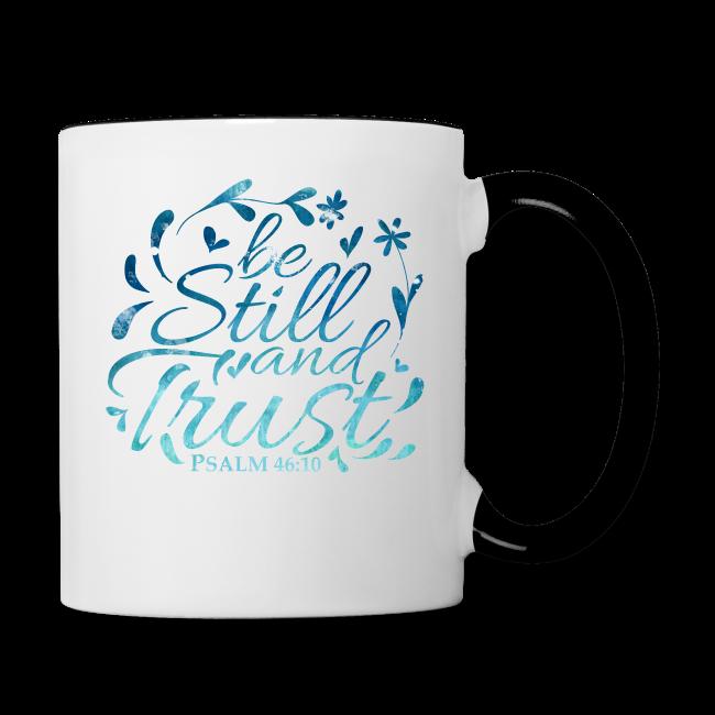 be still blue - Contrast Coffee Mug