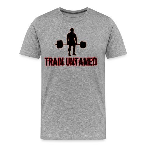 Train Untamed Deadlift T-Shirt - Men's Premium T-Shirt