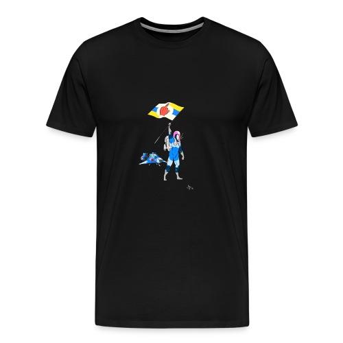 A-hole Spaceman - Men's Premium T-Shirt