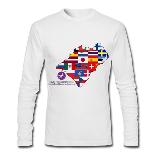 Colonial Field Long Sleeve T-Shirt - Men's Long Sleeve T-Shirt by Next Level