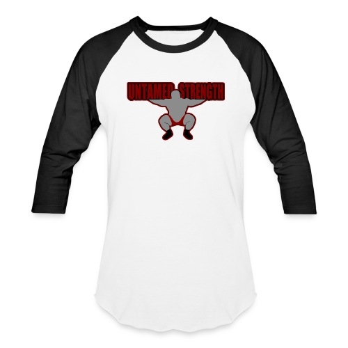 Untamed Strength Baseball Tee - Baseball T-Shirt