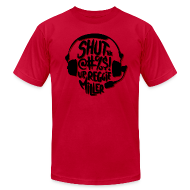 T-Shirts ~ Men's T-Shirt by American Apparel ~ Shut Up