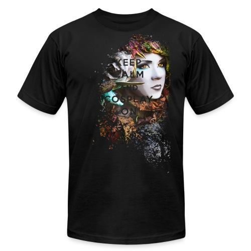 Men's Danielle Zyra KeepCalm Premium T-Shirt - Men's Fine Jersey T-Shirt