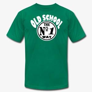 old school way - Men's Fine Jersey T-Shirt