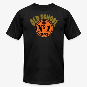 old school - Men's Fine Jersey T-Shirt