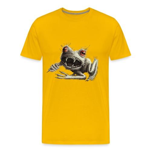 Werefrog Monster Frog Halloween - Men's Premium T-Shirt