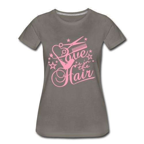 Love HAIR - Women's Premium T-Shirt