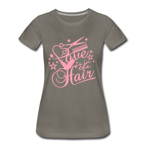 Love HAIR - Women's Premium T-Shirt