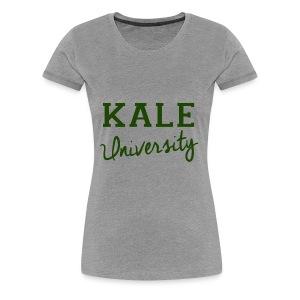 Kale University Tee - Women's Premium T-Shirt